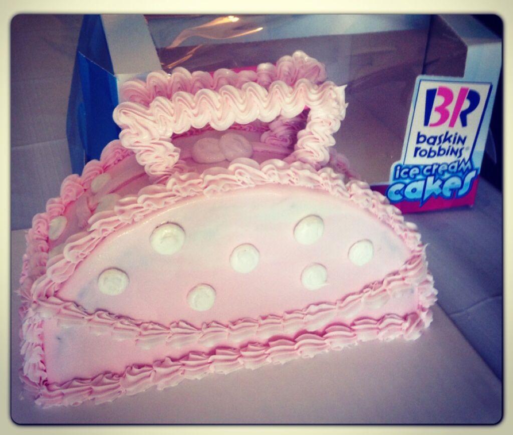 Baskin Robbin's Mother's Day ice cream cake Baskin