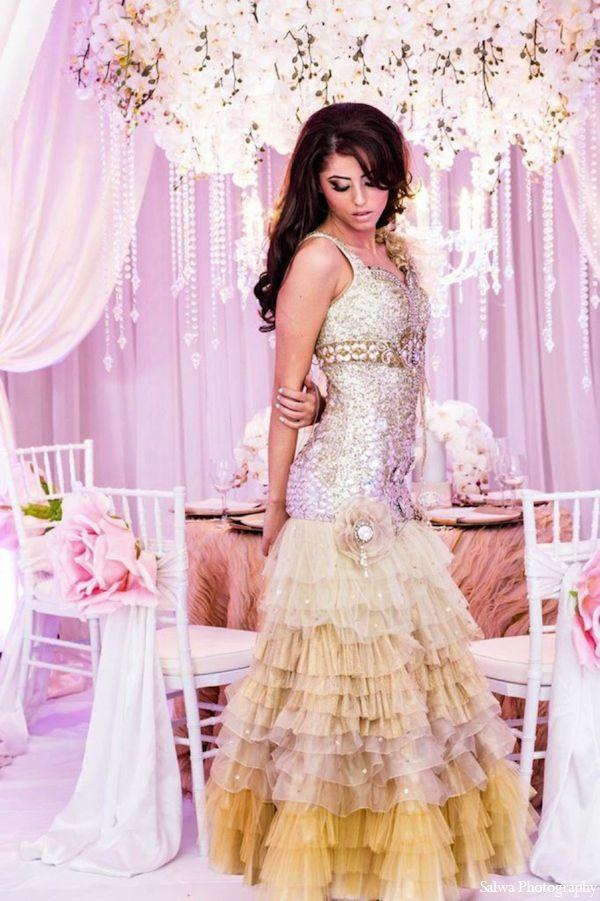 An original Design House Decor Indian bridal fashion editorial. The ...