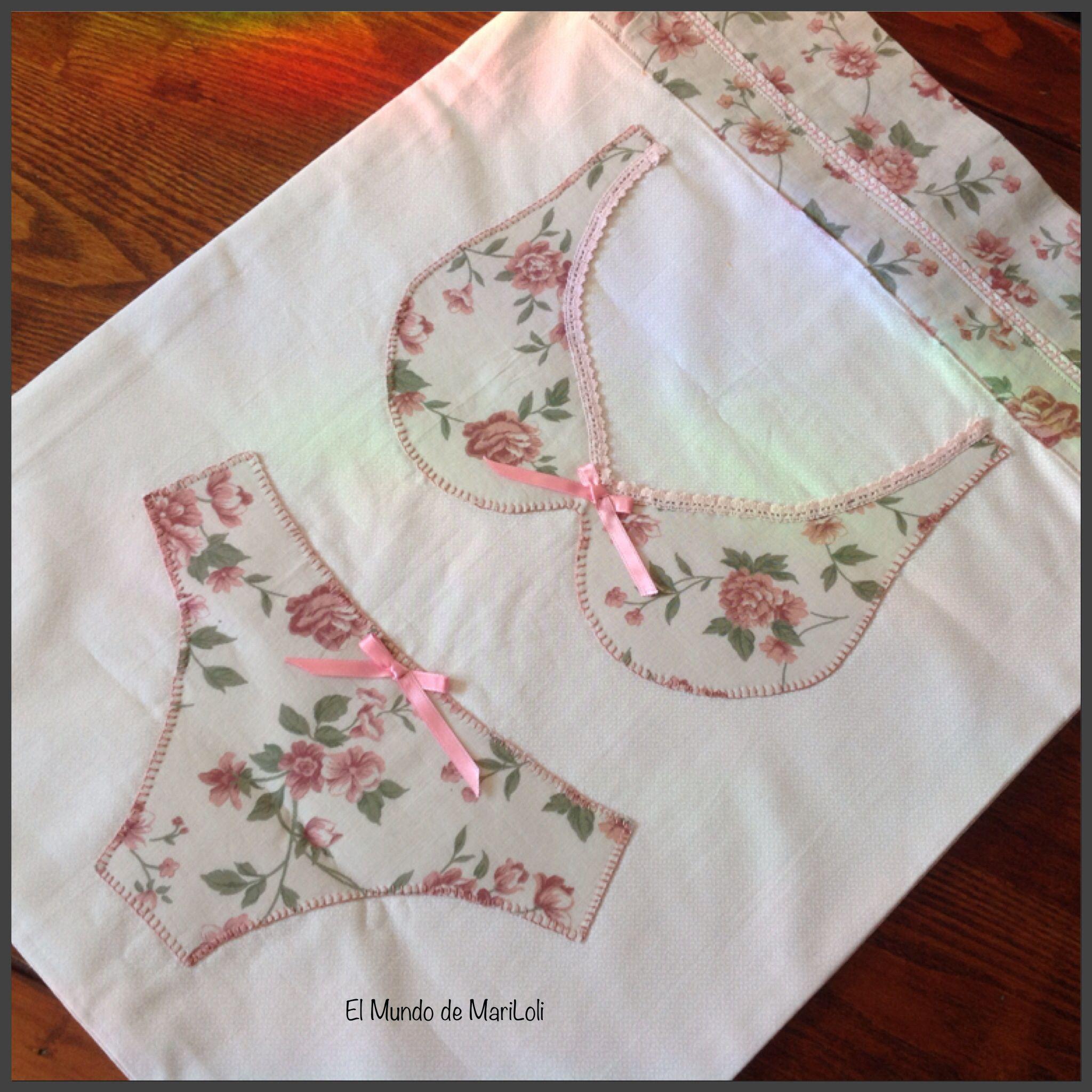 bolsa de tela para ropa interior mis trabajos