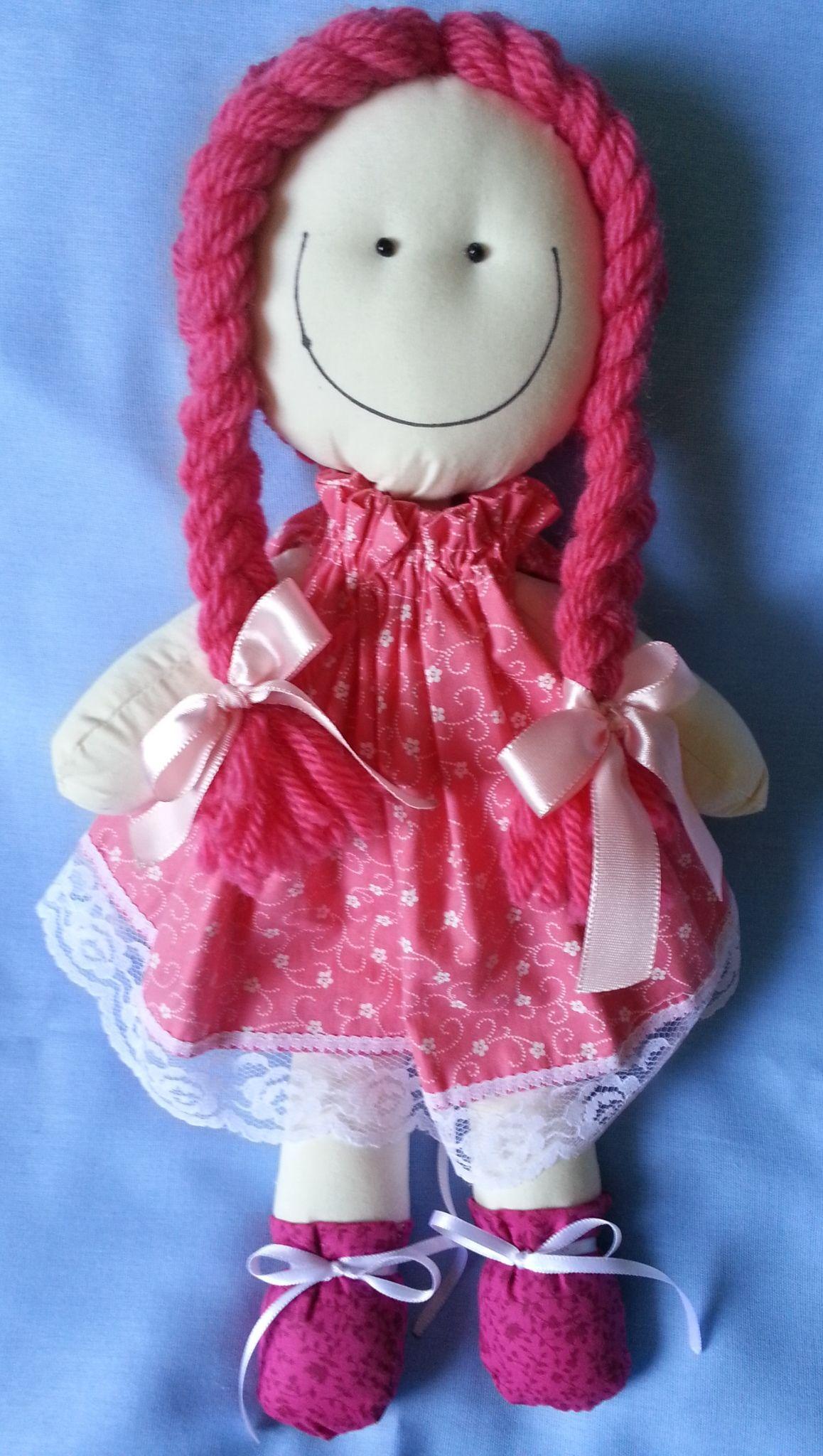 Boneca Rosa 1 Frente