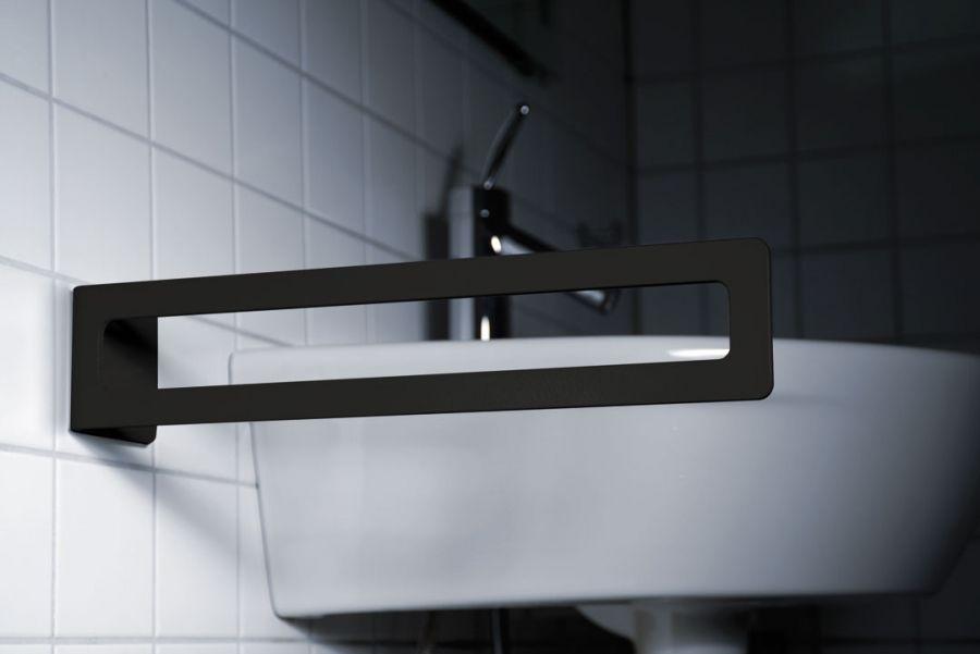Handtuchhalter Schwarz Kleben Badezimmer Handtuchhalter