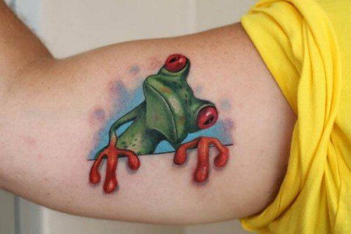 Amazin Frog Halloween 2020 Tree Frog Tattoo   Top 30 Amazing Frog Design Ideas // September