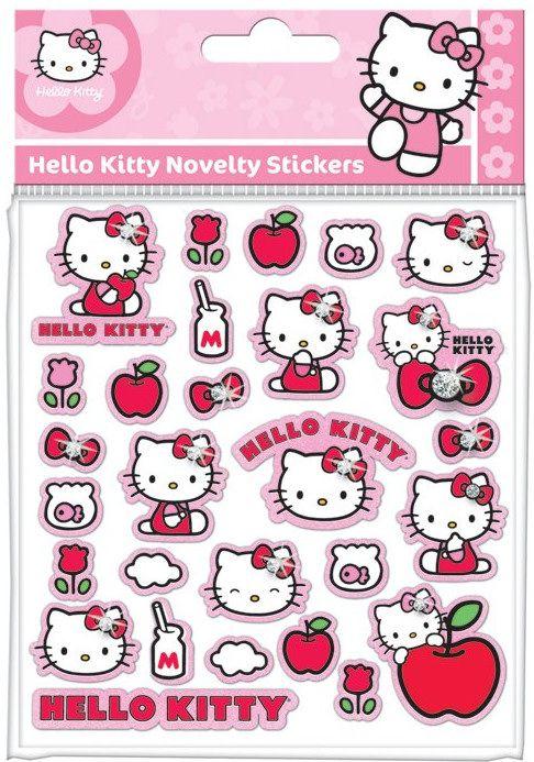 hello kitty klistermärken