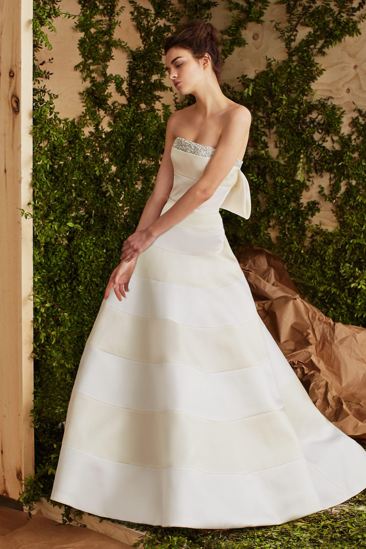 Carolina Herrera Bridal Spring 2017 Ansel Carolina Herrera Bridal Carolina Herrera Bridal Spring 2017 Carolina Herrera Wedding Dress