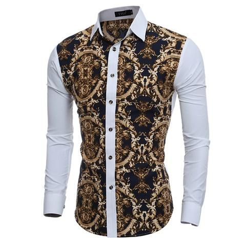 Contemporary Floral Shirt