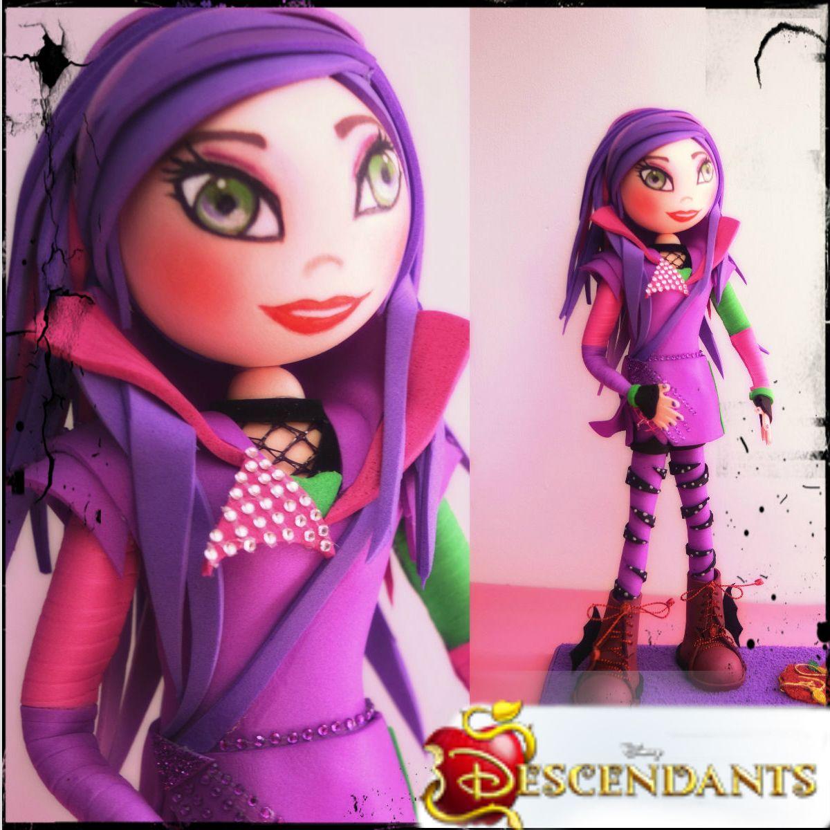 Mal, personaje animado de Los  Descendientes