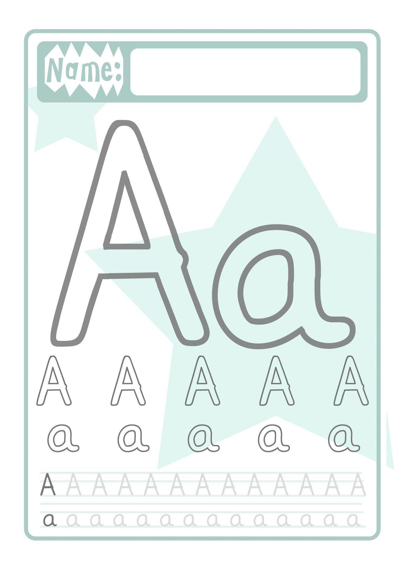 Buchstaben Druckvorlage für Kinder | Pinterest | Schreiben lernen ...