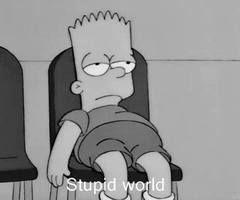 Depressed at times