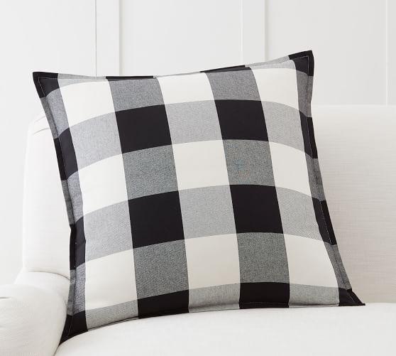 Buffalo Check Plaid Pillow Cover Buffalo Plaid Pillows Plaid Pillow Covers Buffalo Check Pillows