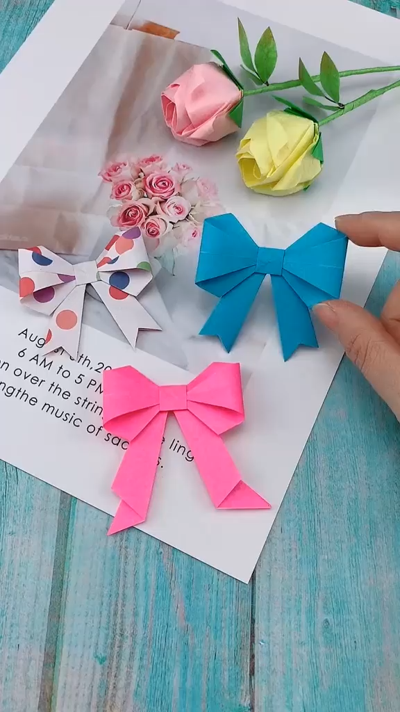 Photo of DIY Bow-Knot Butterfly Tie – DIY Papier Blog
