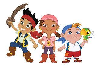 Jake e os Piratas da Terra do Nunca - Kit Completo com molduras para convites, rótulos para guloseimas, lembrancinhas e imagens!