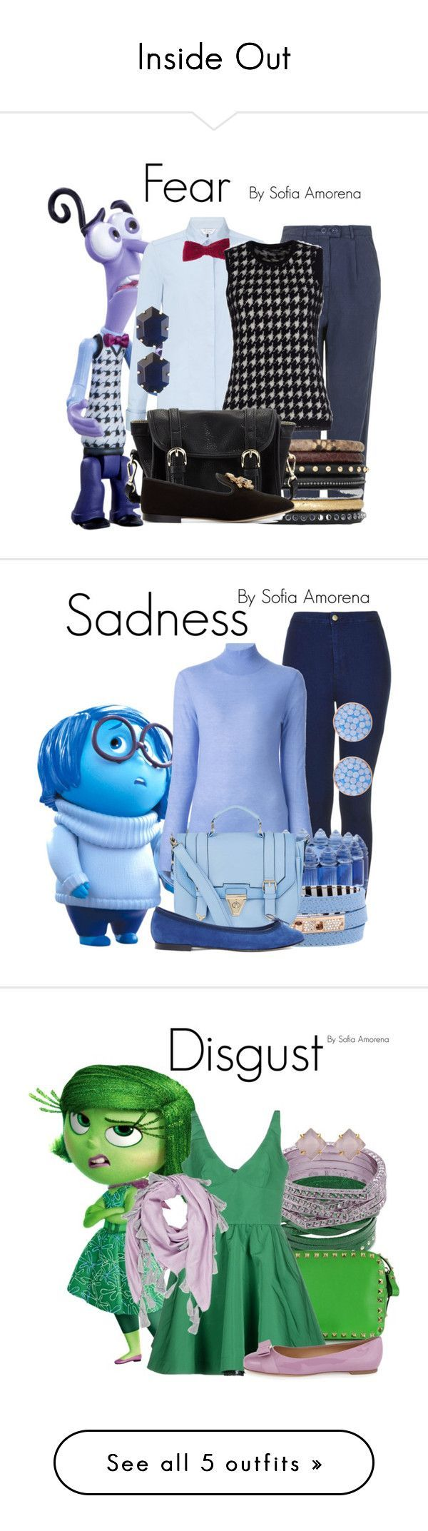 Inside Out by sofiaamorena ❤ liked on Polyvore                                                                                                                                                                                 More #characterdayspiritweek Inside Out by sofiaamorena ❤ liked on Polyvore                                                                                                                                                                                 More #characterdayspiritweek