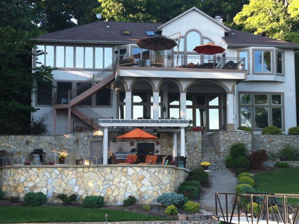 Sunrise Beach House Rental: Fantastic Luxury Home In Porto Cima Lakefront  On Chimney Cove | HomeAway
