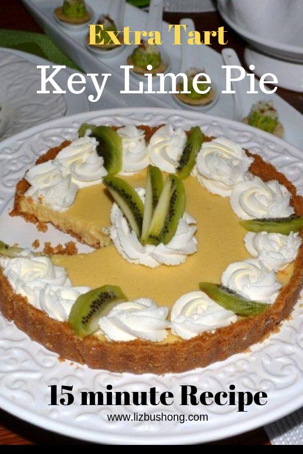 Extra Tart Key Lime Pie Recipe Liz Bushong Recipe Keylime Pie Recipe Lime Pie Key Lime Pie