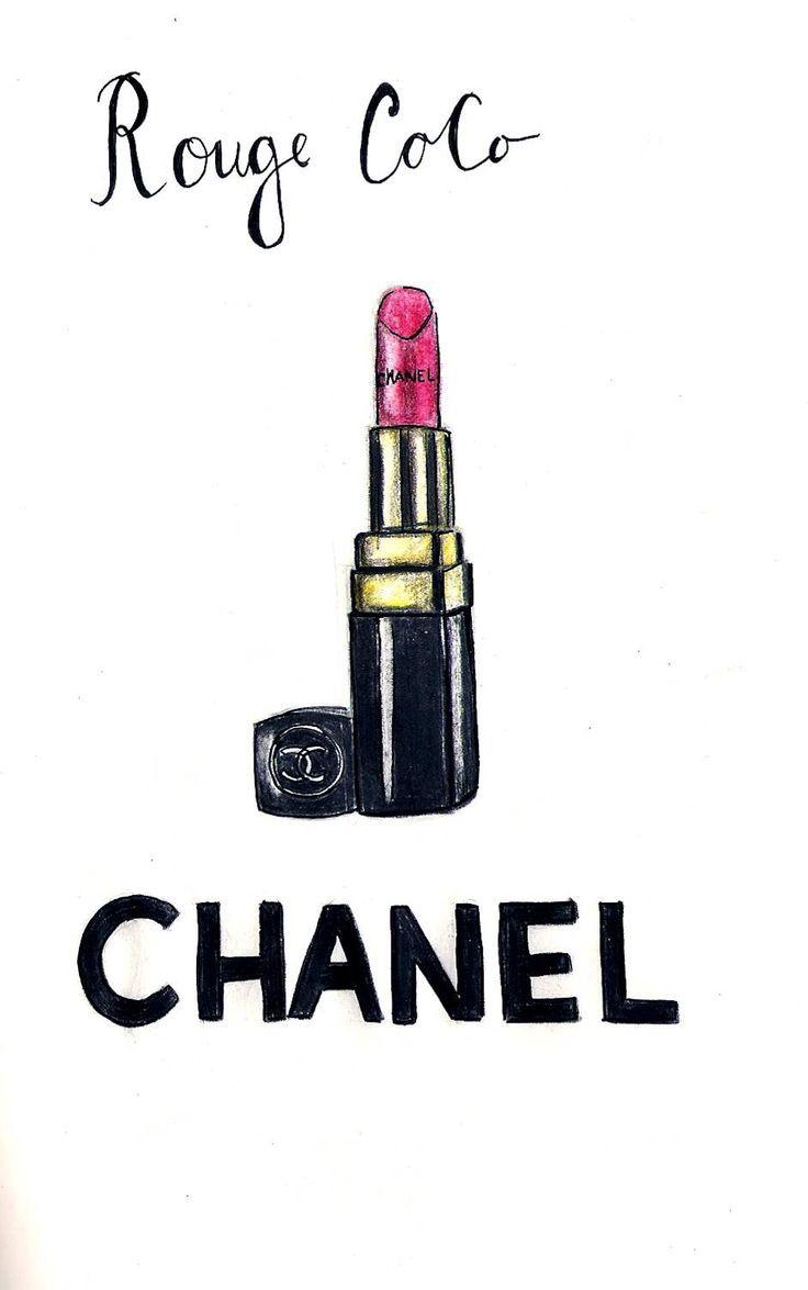 Epingle Sur Chanel Illustration