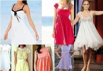 Baby doll fashion dresses