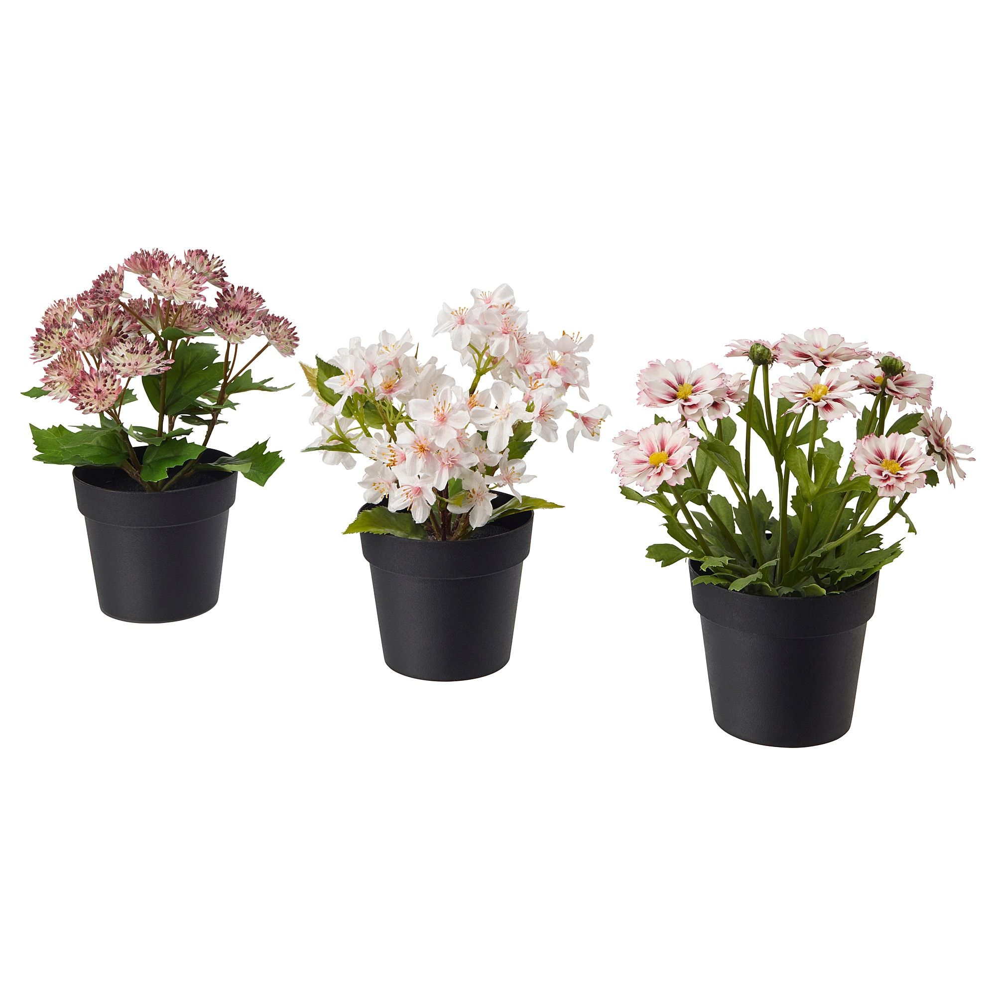 Fejka Artificial Potted Plant Indoor Outdoor Pink Ikea In 2020 Artificial Potted Plants Artificial Flowers And Plants Fake Plants Decor