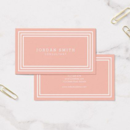Editable background color with white borders business card editable background color with white borders business card minimalist office gifts personalize office cyo custom reheart Gallery