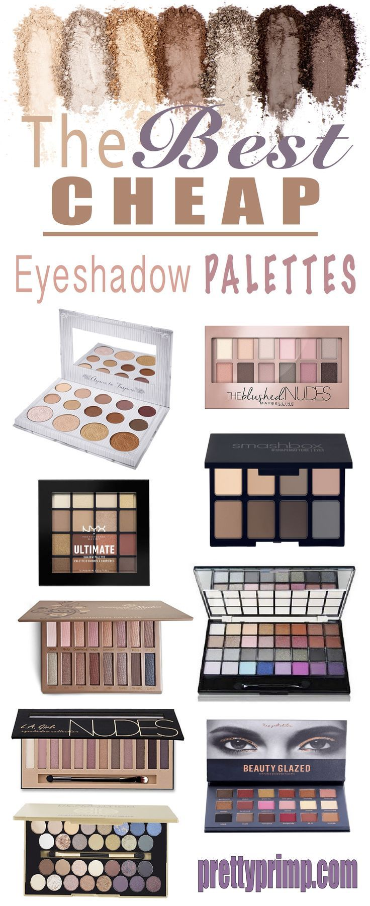 24 Best Cheap But Good Eyeshadow Palettes You NEED in Your Life