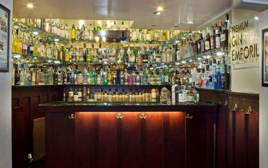 Top 10 gin bars worldwide according to telegraph