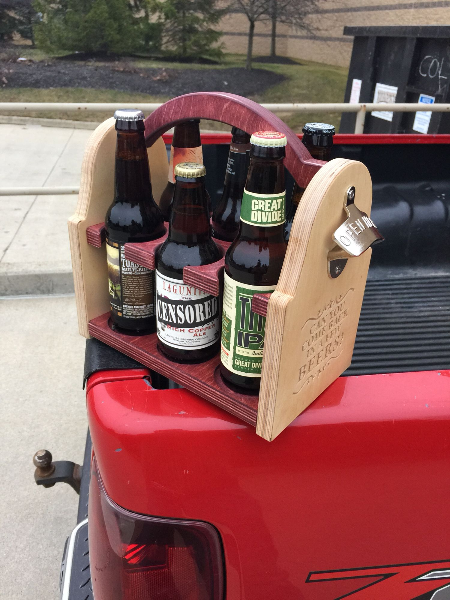 Beer Tote Beer Wood Cnc Projects Heirloom Toys