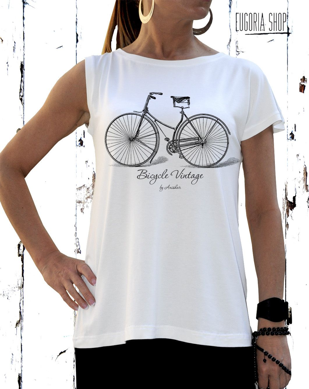 Unisex Bicycle T-shirt / Hand Screen Printed / Unisex Design ...