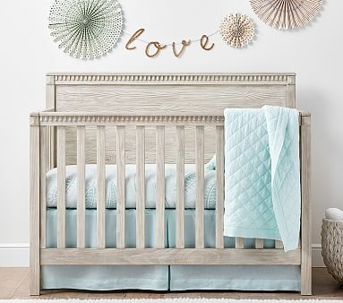 Rory 4-In-1 Convertible Crib #pbkids | Nursery | Pinterest | Niño ...