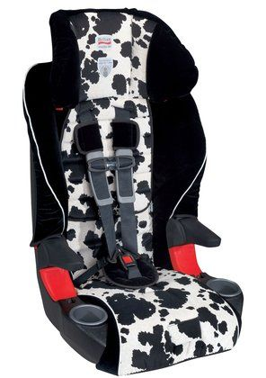 Britax Booster Seat Holds Up To 85 Pounds With The 5 Point Harness