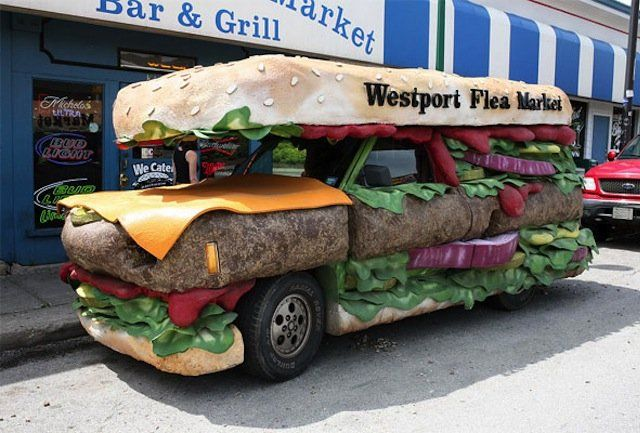 The 9 Tastiest Looking Literal Food Trucks In The World Food