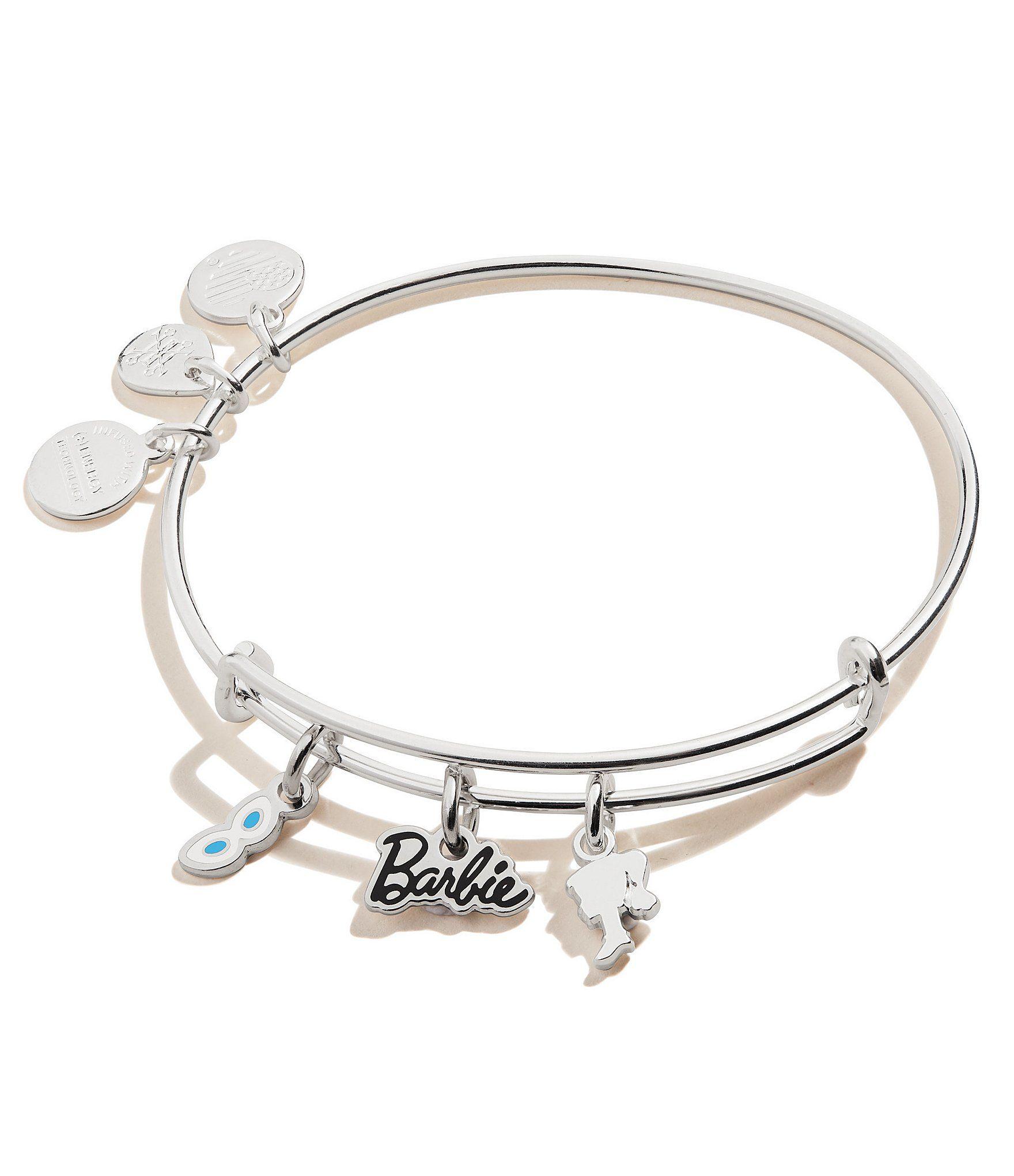 Ani Barbie Trio Charm Bangle Bracelet