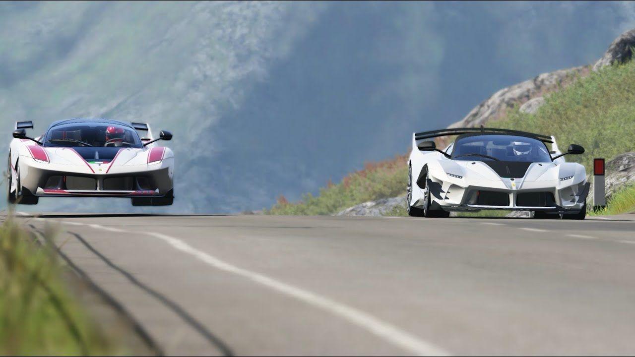 Ferrari FXX K Evo vs Ferrari FXX K at Highlands