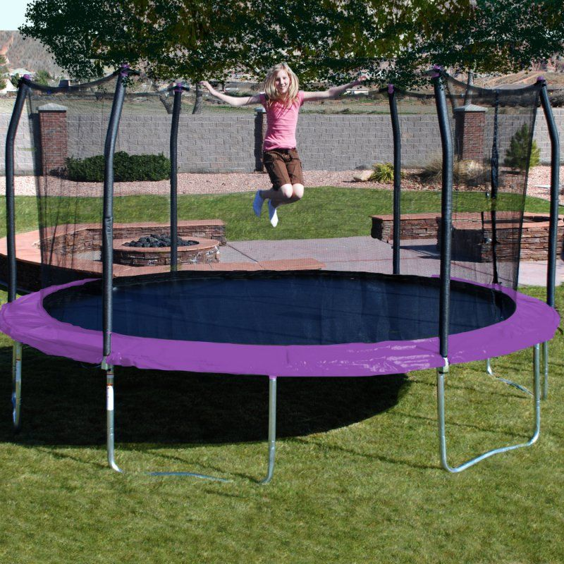 17 Best Ideas About Oval Trampoline On Pinterest: Skywalker Trampolines 17 Ft. Oval Trampoline With Safety