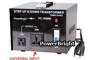 This Voltage Transformer Can Be Used In 110 Volt Countries And 220 Volt Countries It Will Convert From 220 240 Volt To 110 1 Transformers Step Power Inverters