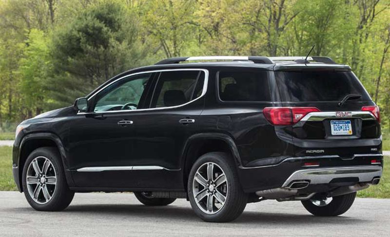 2017 Gmc Acadia Redesign Release Date Auto Fave Best Family