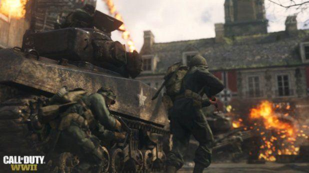 Pin On تقرير Call Of Duty Ww2 ستعمل بد قة 4k وتقنية Hdr على Xbox One X