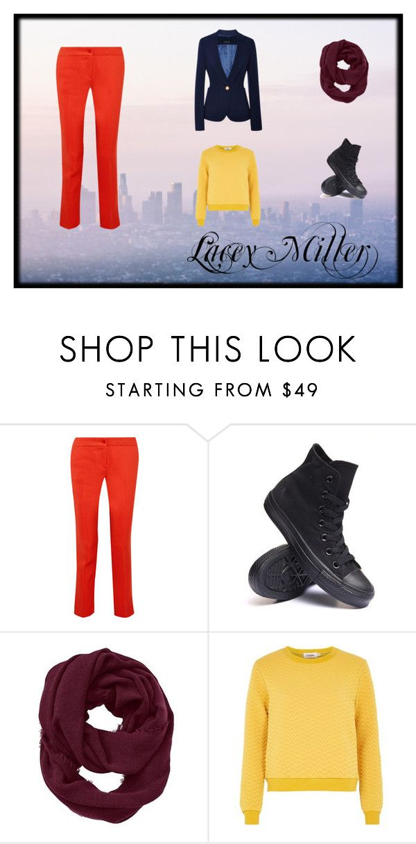 """Lacey Miller- Factionless"" by blueberry-98 ❤ liked on Polyvore featuring Etro, Converse, Athleta, Louche and Derek Lam"