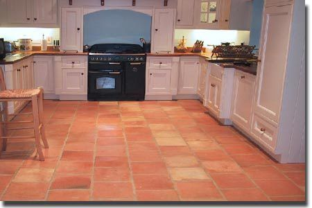 Mexican Terracotta Tiles 300 Mm X 300 Mm X 20 Mm Kitchen