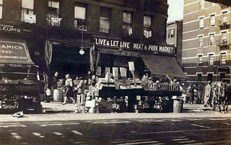 Live and Let Live Meat and Poultry Market, Ninth Ave at SW