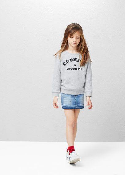 Sudaderas de Niños | MANGO Kids España