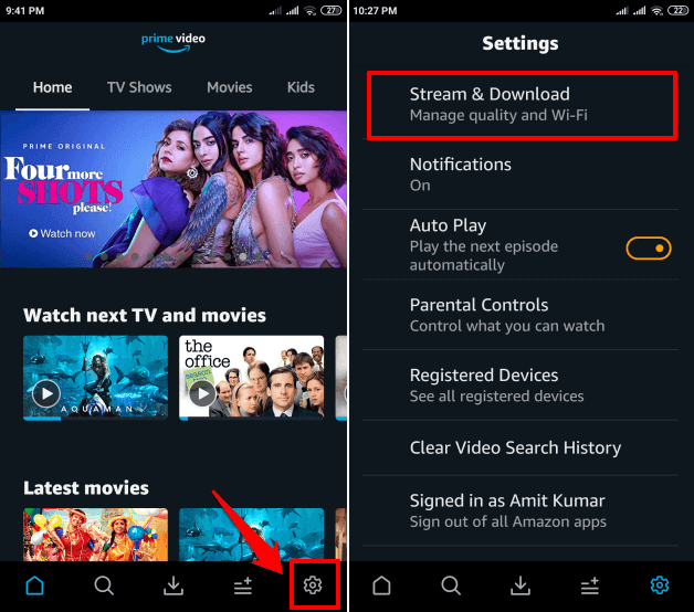 How to Change Video Quality in Amazon Prime on Windows 10
