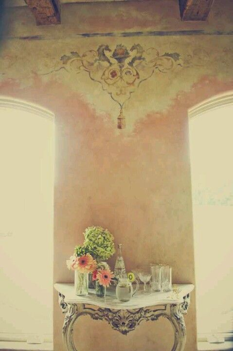 French Country Cottage..Adore the Old World Wall Treatments ...