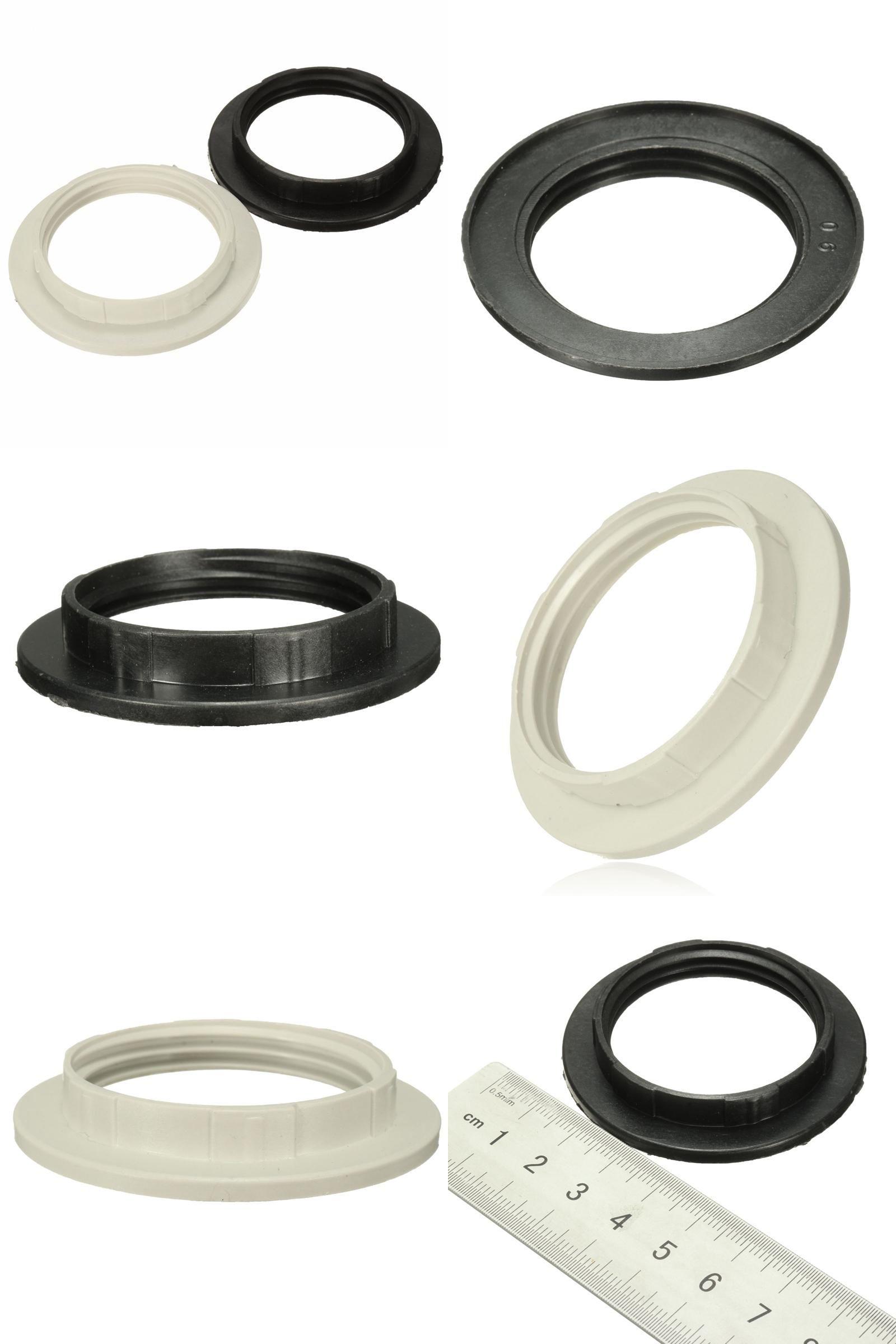 Visit to buy blackwhite e27 lampshade light shade collar ring visit to buy blackwhite e27 lampshade light shade collar ring adaptor 40mm arubaitofo Images