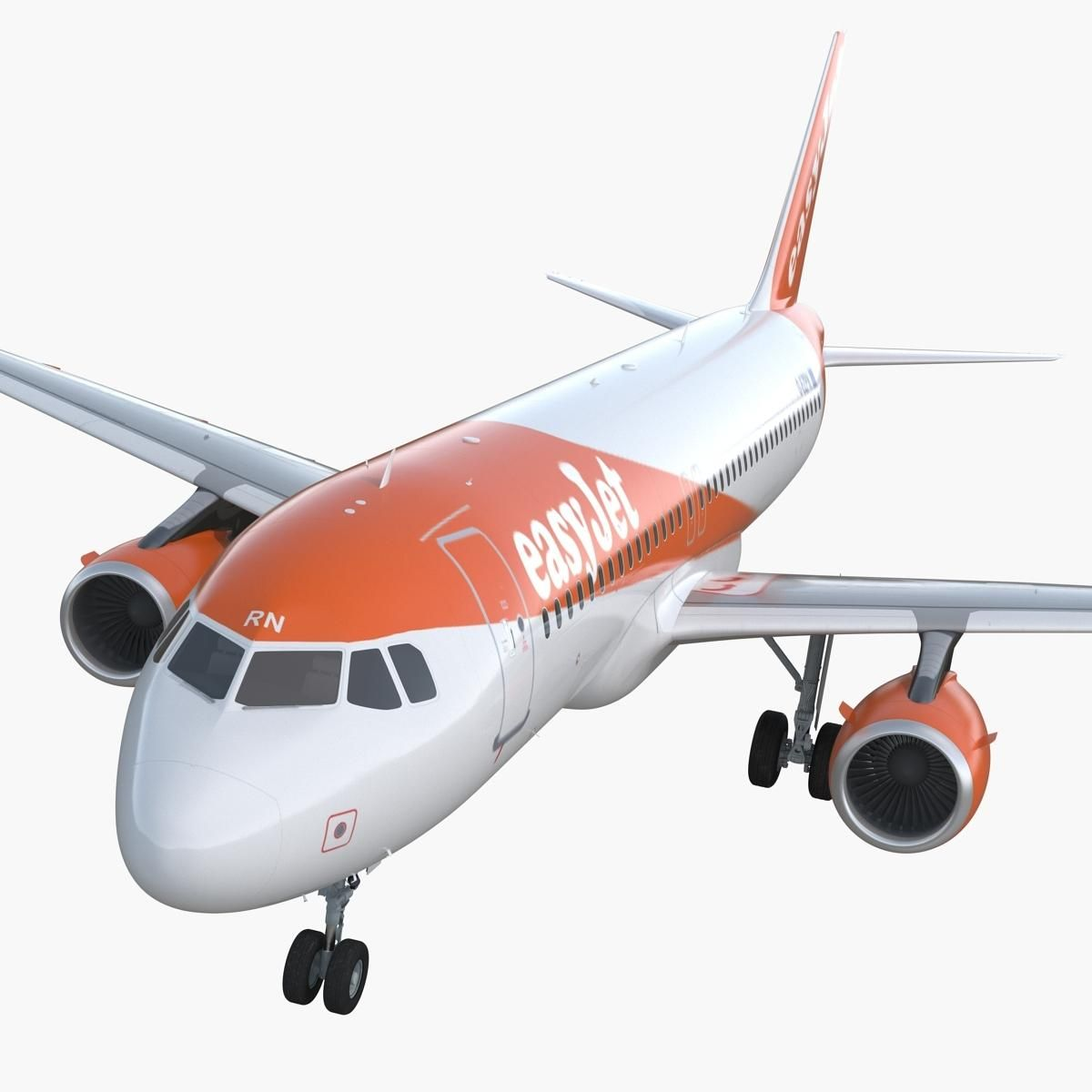 Airbus A320 Easyjet Airline 3d Model Ad Airbus Easyjet Model Airline 3d Model Airbus Airline