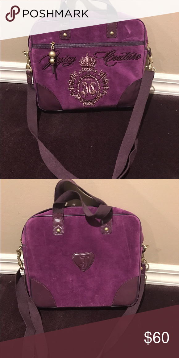 Juicy Couture laptop case Purple 4b2ced1380ea