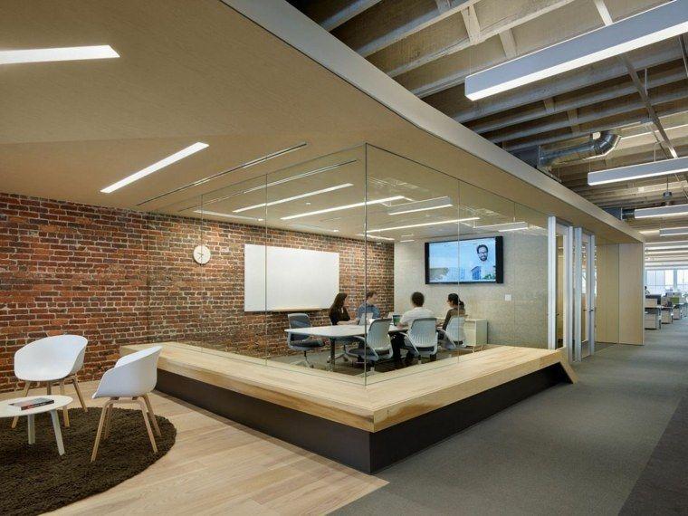 Salle de r union avec design original en 57 id es for Zendesk office design