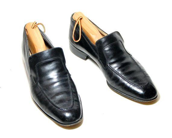 Classic Black Salvatore Ferragamo Slip On by Ramenzombie on Etsy, $38.00