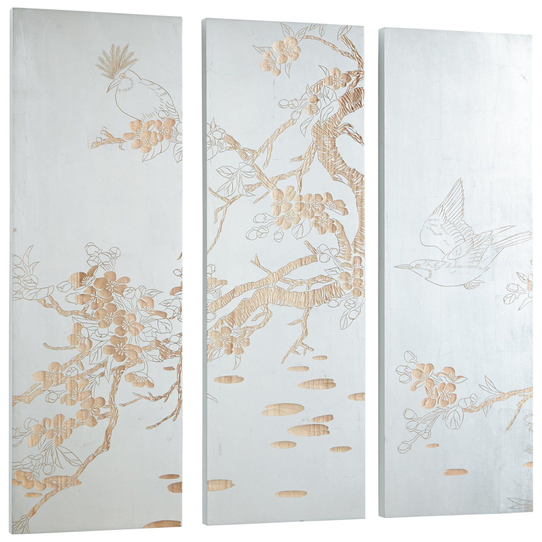 Cyan design osaka panel wall art panel wall art and products