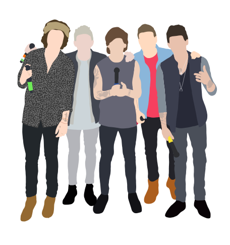 One Direction San Siro Concert Sticker By Andreariv One Direction Art One Direction Drawings One Direction Pictures