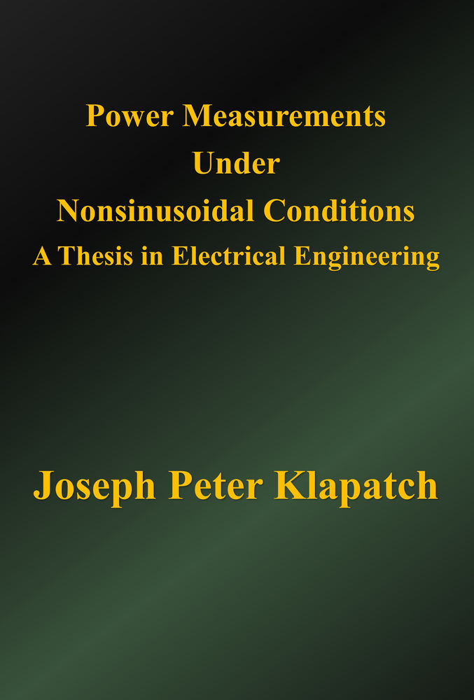 Master thesis proposal electrical engineering