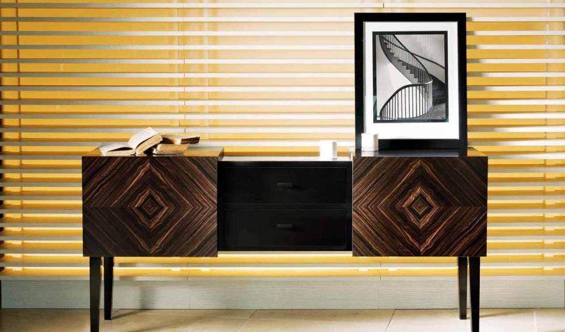 Modern style bookcase DOM EDIZIONI | Mobile con due ante, ognuna ...